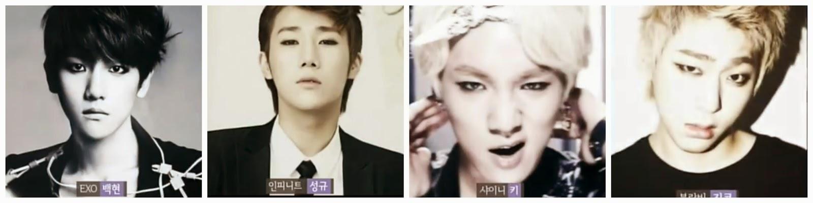 male idols with eyeliner