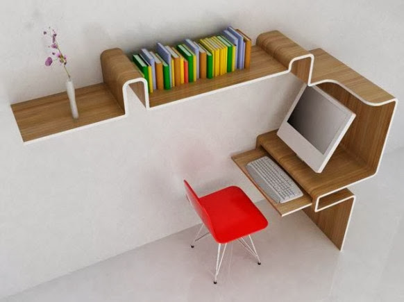 Space-Saving-Office-Desk