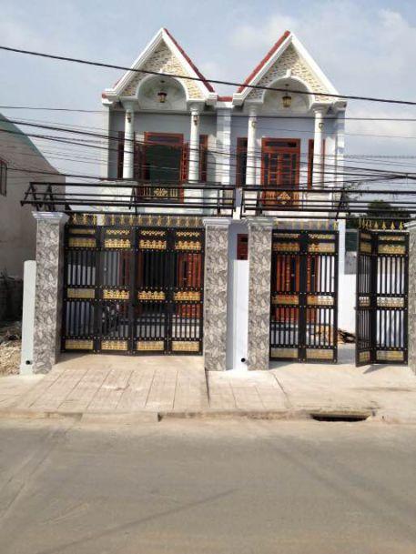 Bán nhà 1 lầu 1 trệt mới gần chợ Dĩ An giá rẻ