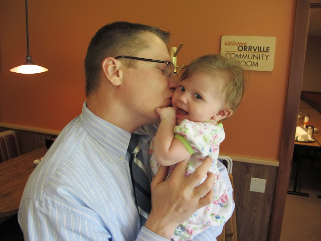 Stealing Kisses from Daddy
