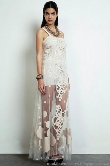 María Vazquez primavera verano 2014 vestidos.