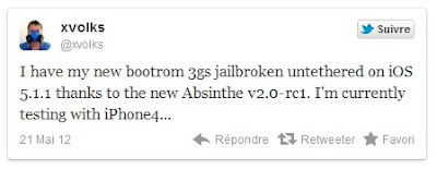 iPhone 3G To Absinthe 2.0 Jailbreak