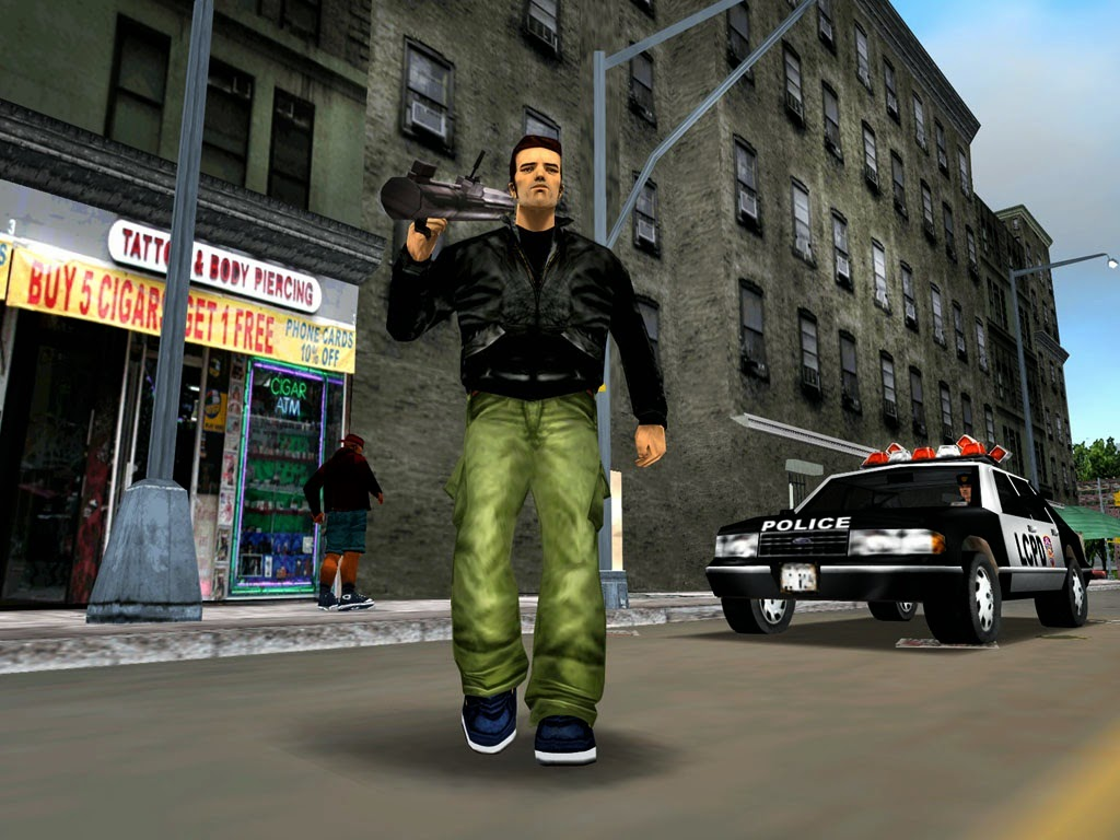 GTA III Game For Pc