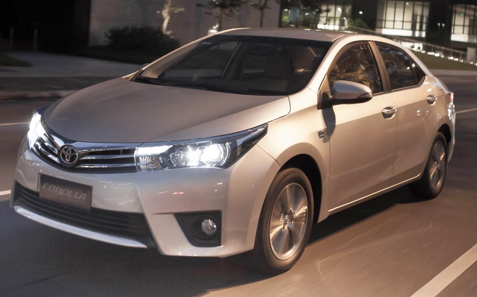 Novo Toyota Corolla 2015 fotos