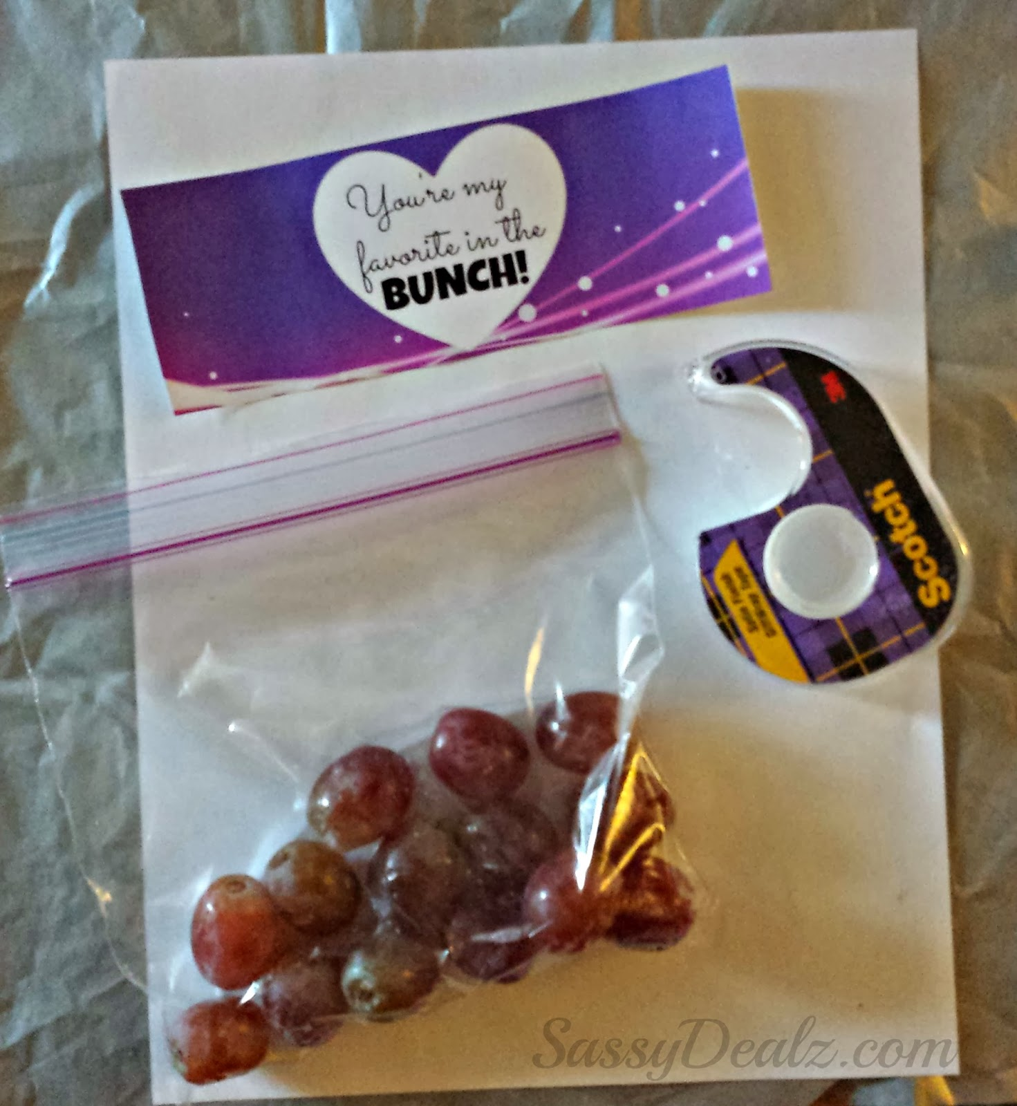 grapes valentine day gift diy