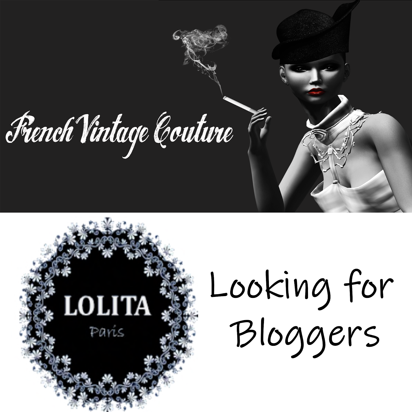 Lolita Paris & French Vintage Couture