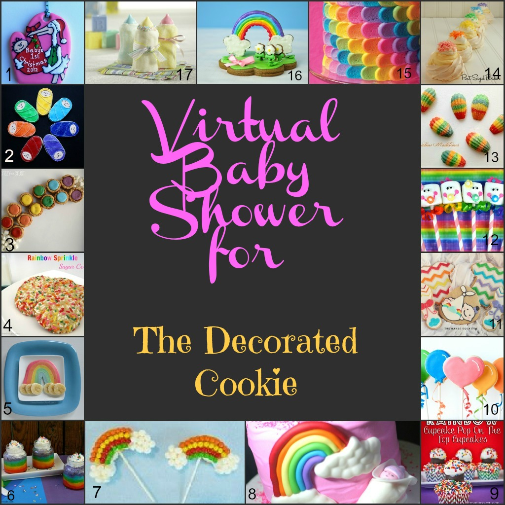 all the awesome bloggers participating in the virtual baby shower