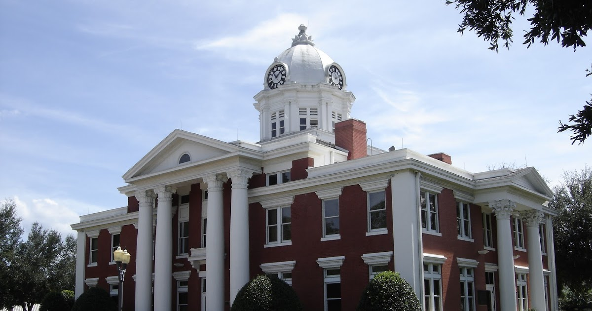 Places To Go Buildings To See Pasco County Courthouse Dade City Florida