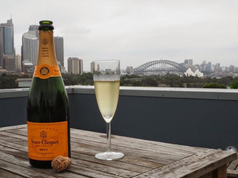 sydney, australia, champagne, sydney harbour bridge, rooftop, view