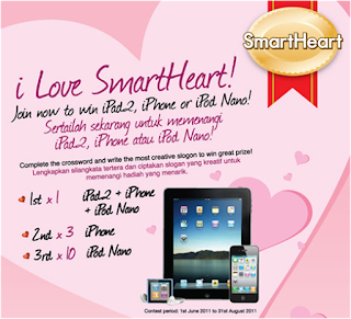 'I Love SmartHeart' Contest