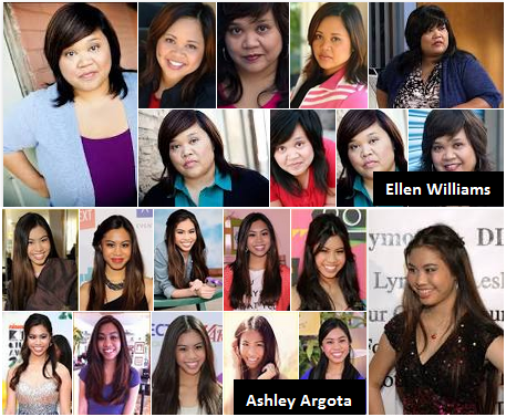 Two Filipino-Americans Ellen D. William and Ashley Argota Making Name on Hollywood