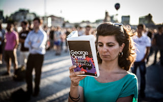 Taksim Square Book Club, reading as revolution, great environmental books
