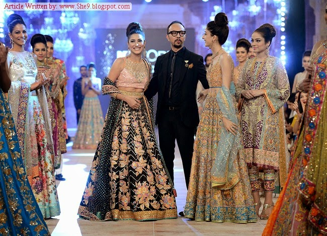 Nomi Ansari Bridal Collection at PFDC BW-14