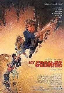Cartel de la películas Los Goonies