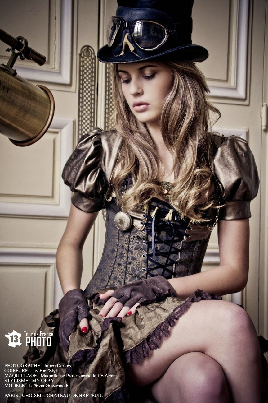 devilinspired steampunk dresses