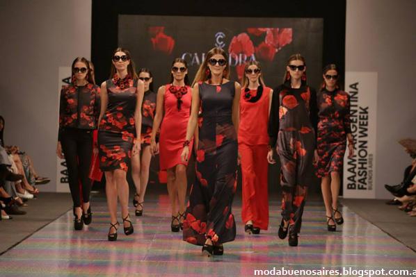 Colección Calandra otoño invierno 2014. Semana de la moda en Argentina BAAM 40.