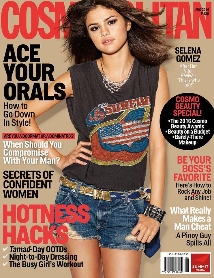 Selena Cosmopolitan August 2016