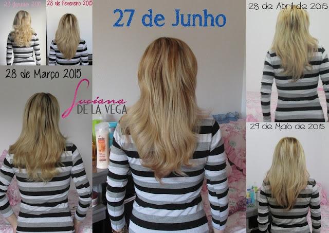 Crescimento acelerado do cabelo, projeto rapunzel