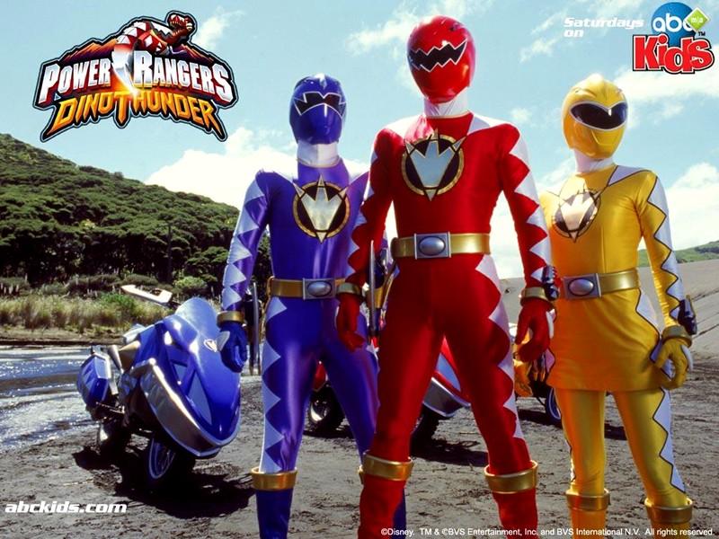 Power Rangers Dino Thunder TV Wallpapers
