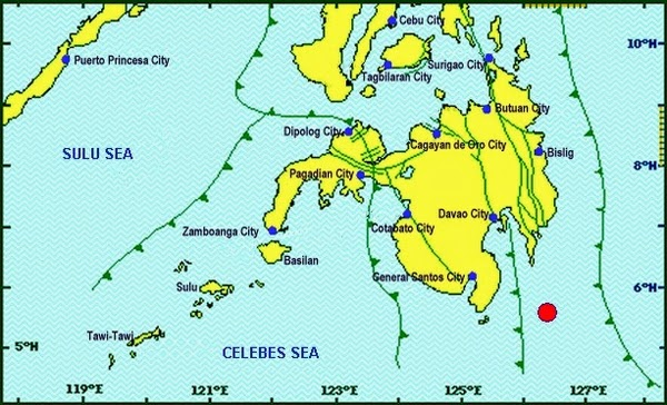 Philippines Earthquake July 14, 2014