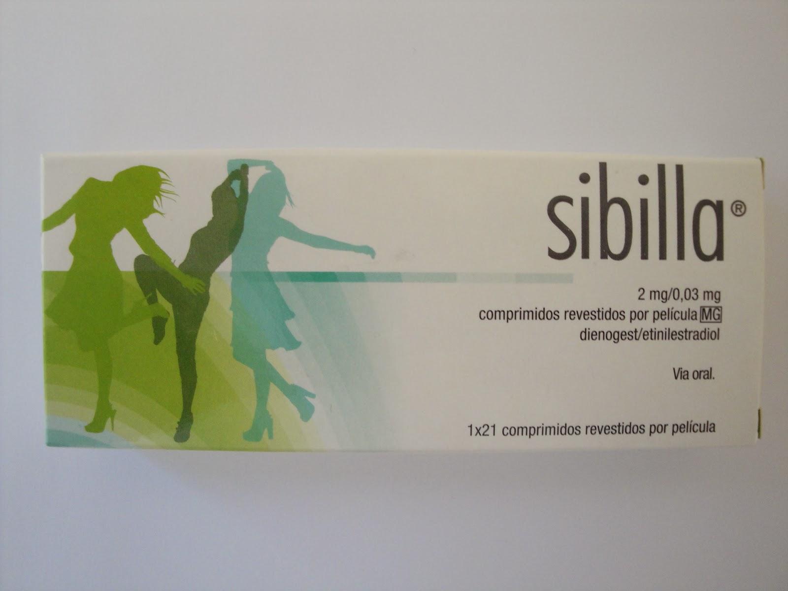 Caixa de pilula Sibilla