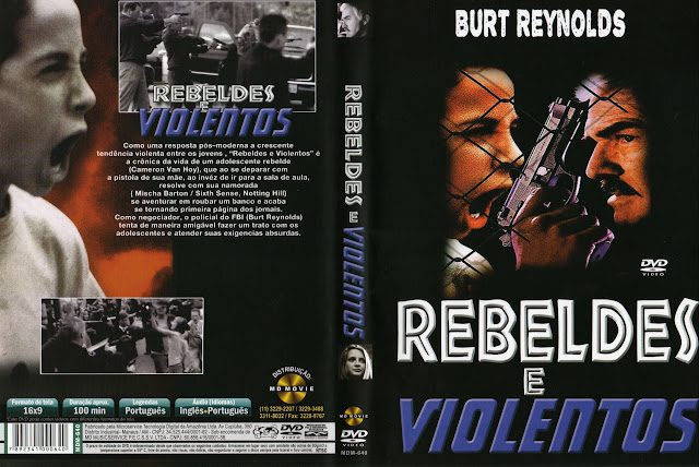 Capa DVD Rebeldes E Violentos