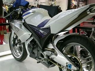Modifikasi Lampu Yamaha Vixion