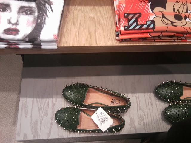 koton ayakkabı, loafer, yeşil babet