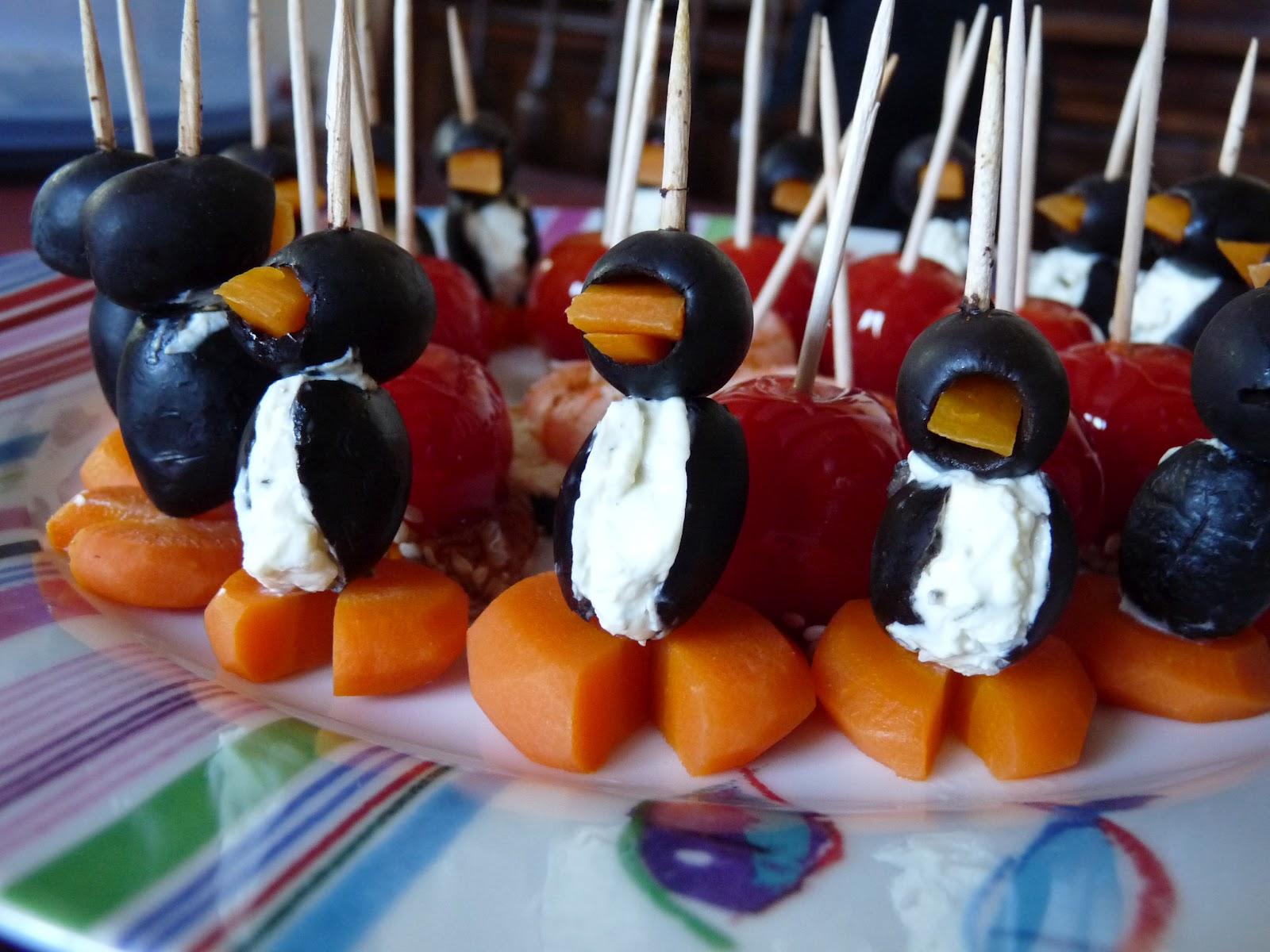 Le petit monde de bidule id e pour l 39 ap ro petits pingouins - Idee pour l apero ...
