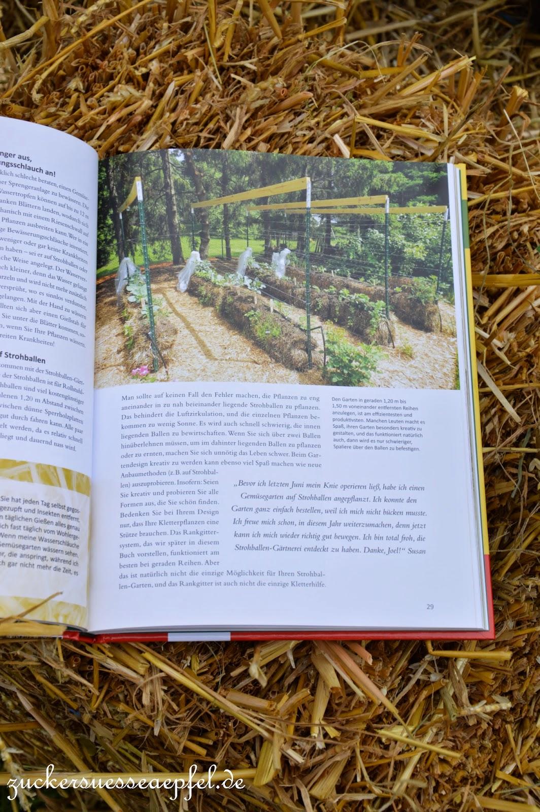 ♥zuckersüße Äpfel - Kreativer Familienblog Und Mamablog♥: Der ... Gaertnern Auf Strohballen Gemuese Pflanzen