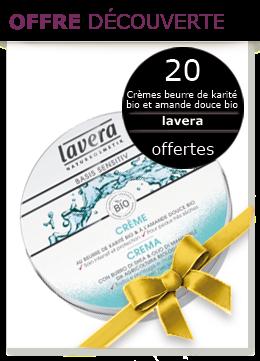 20 crèmes au beurre de karité Bio Lavera