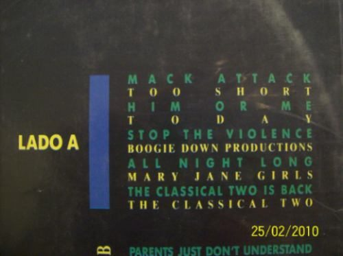 Various Rap Attack CD 3
