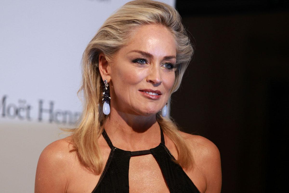 Hot Female Celebrities: Sharon Stone Hot At Amfar Milano ...