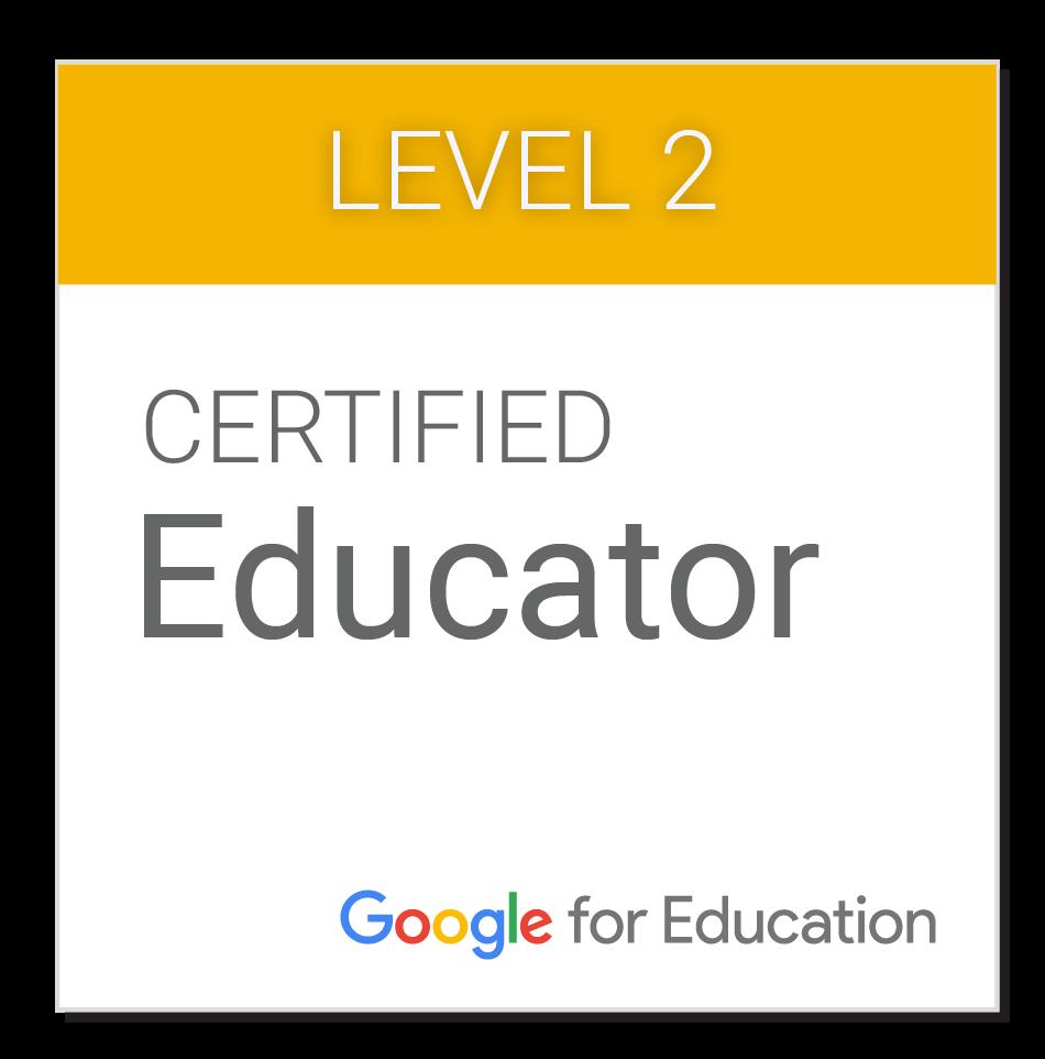 Certificação Google Educador Nível 2