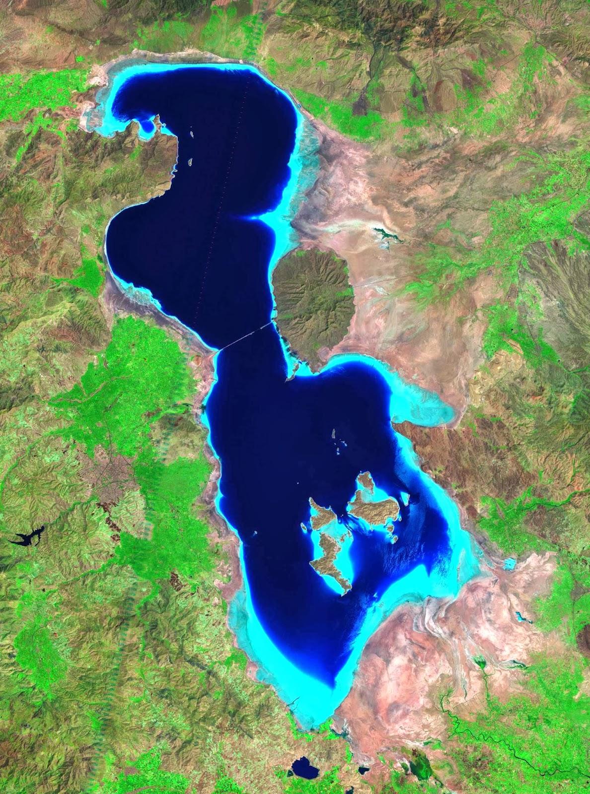 Lake Urmia, 2010.