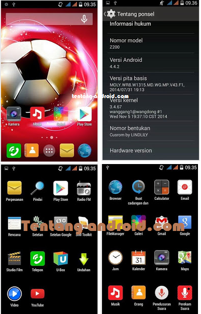 CUSTOM ROM For ACER Z200 - SPC 12 RAZOR Terbaru