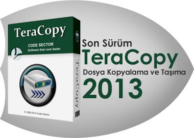 تحميل برنامج تسريع نقل الملفات تيرا كوبى 2013  TeraCopy 2.27
