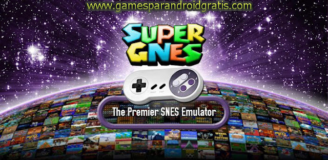 Download SuperGNES (SNES Emulator) Apk