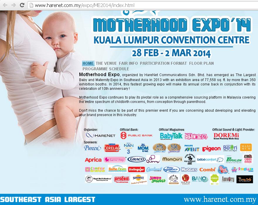 Expo IbuBapa 2014, KLCC