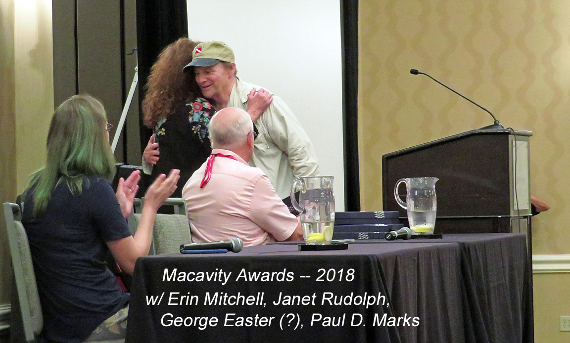 """Windward"" wins 2018 Macavity Award"