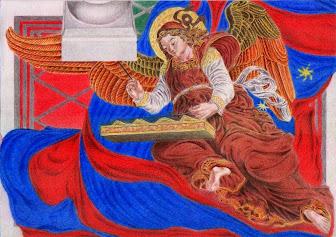Angel tocant el xilofo