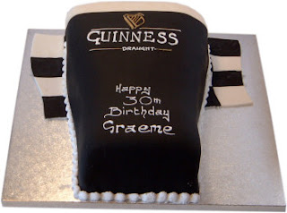 Chocolate Guinness Birthday Cake
