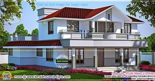 kerala home design and floor plans beautiful home in 4 beautiful home elevation designs in 3d architecture