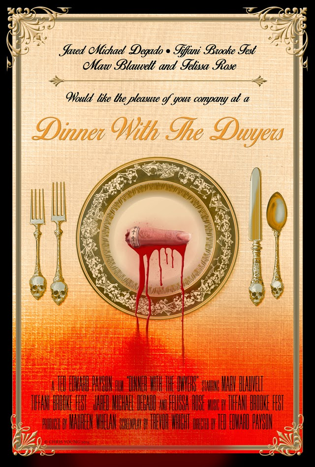 Dinner with the Dwyers, Marv Blauvelt, Felissa Rose, Chris Young, CYoungMedia, Movie, Poster