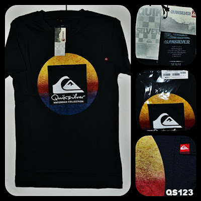 Kaos Surfing QUIKSILVER Kode QS123
