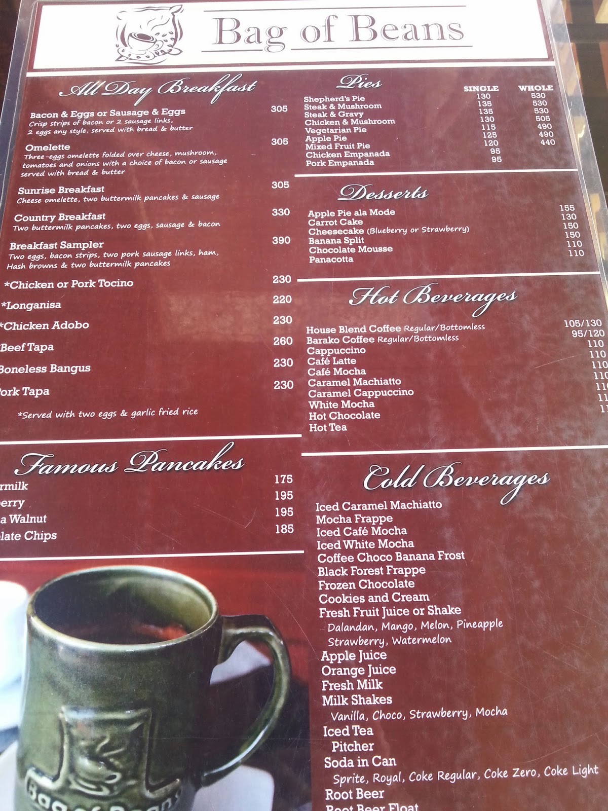 Cafe Veranda Tagaytay Buffet Price