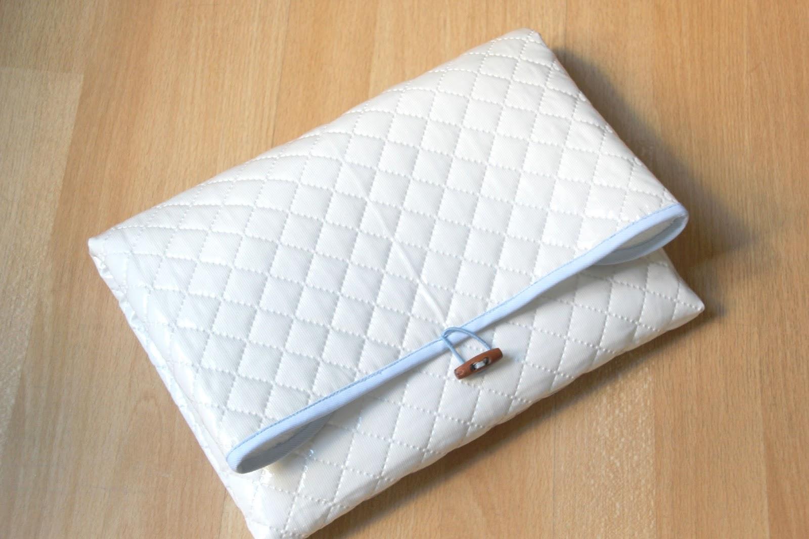 DIY Tutorial y patrones cambiador de bolso para bebé - Handbox Craft ...