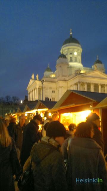 St. Thomas Christmas Market in Helsinki