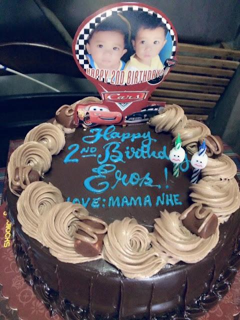 My Twins' 2nd Birthday - Goldilocks Cake