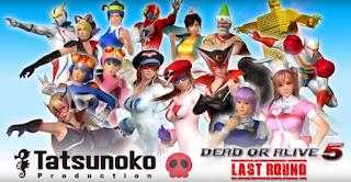 Dead or Alive 5 Last Round omaggia gli eroi della Tatsunoko